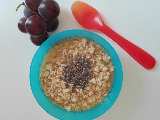 Cereal de avena natural