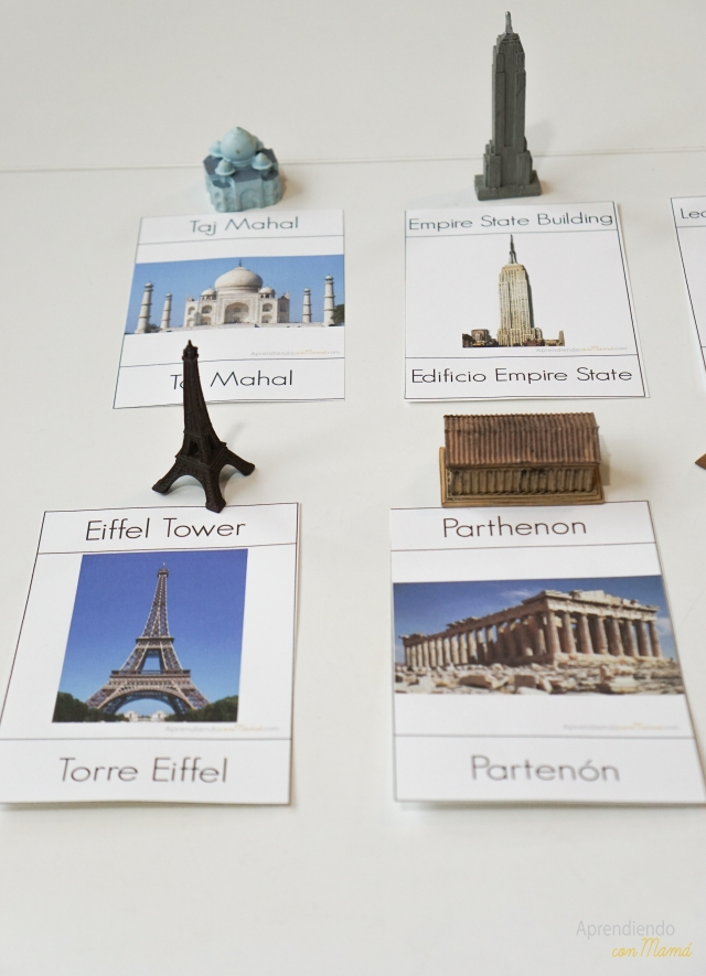 Aprendiendo Geografía con Montessori